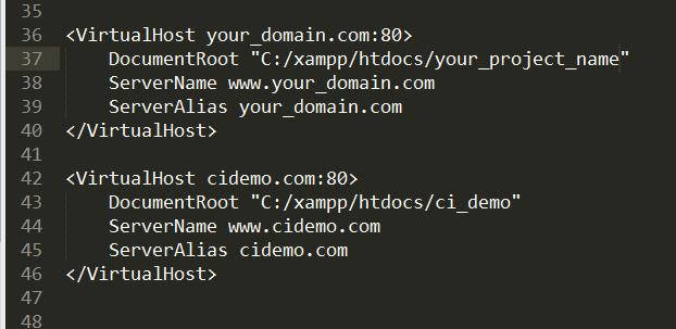 How-to-create-virtual-host-on-XAMPP-Server