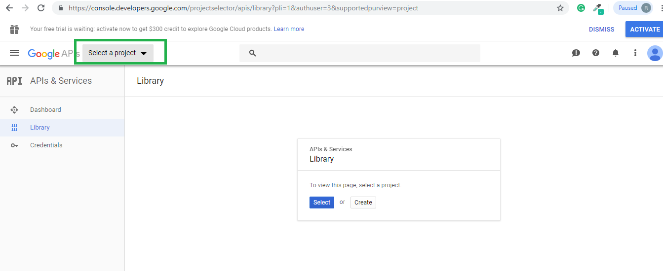 how-to-create-google-plus-app-and-app-secret-step